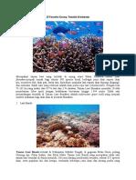 10 Taman Laut Terindah Di Indonesia