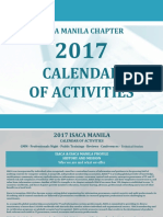 ISACA Seminar List as of Jan 2017