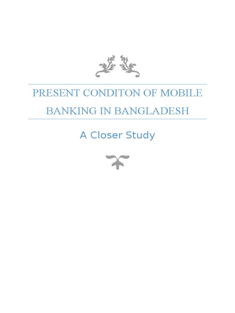 Mobile Banking in Bangladesh | Mobile Phones | Survey