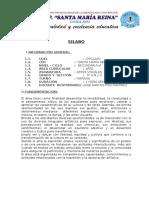 SILABUS DE ARTES VISUALES 5°