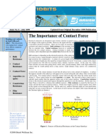 Issue No 06 - The Importance of Contact Force