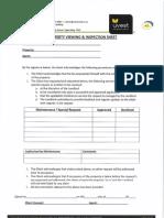Application Viewing Sheet 2016