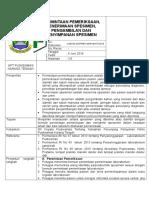8.1.2.1 SOP Permintaan Pemeriksaan, Penerimaan Spesimen, Pengambilan Dan Penyimpanan Spesimen Update