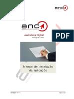 AnoSigner 2.0.8 - Manual de Instalação