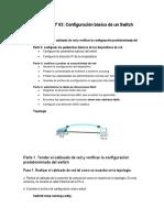 03 Practica - Configuración básica de un Switch