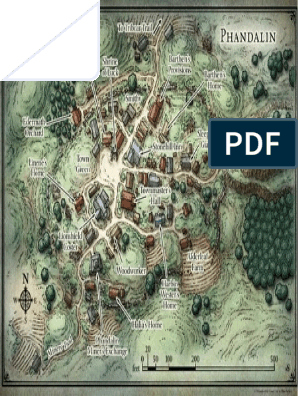 photo relating to Redbrand Hideout Map Printable named Phandalin
