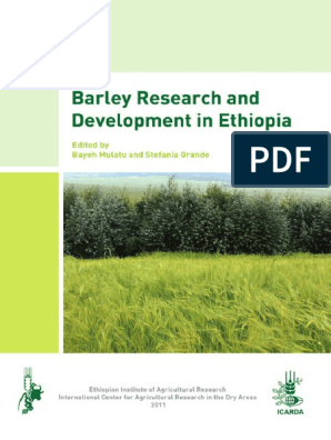 Barley_Research_and_Development_in_Ethiopia pdf | Barley | Crop Rotation