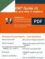 Babok Guide Presentation Rb