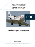 Falcon 7X-Automatic Flight Control System