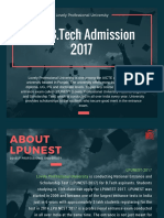 LPUNEST Admission 2017