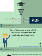 Marks4sure 350-018 PDF