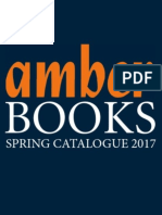 Amber Spring 2017 Trade Books Publishing Catalog
