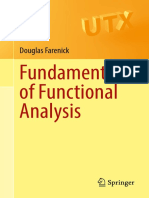 Fundamentals of Functional Analysis
