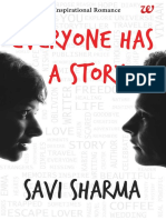 Everyone Has a Story Savi Sharma