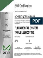 Fundamental Troubleshooting