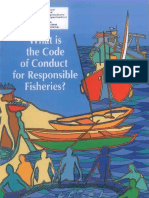WHAT IS THE CODE OF CONDUCT FOR RESPONSIBLE FISHERIES ?