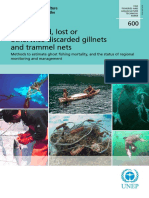 Abandoned, lost or otherwise discarded gillnets and trammel nets