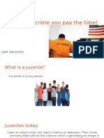 should juveniles ages 14-17 be punished the same as adults-