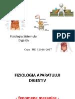 Fiziologia Sistemului Digestiv  I MD