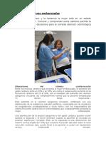 Manejo de Mujeres Embarazadas en odontologia