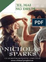 Nicholas Sparks-Cel Mai Lung Drum