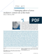 Protective and Damaging Effects of Stress Mediator
