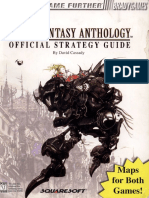 Final Fantasy Anthology (v & VI) - (BradyGames Guide)