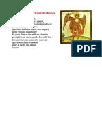 Priere a Saint Michel Archange