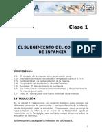 Clase 1_ Infancia y Escuela en El Mundo Contemporaneo