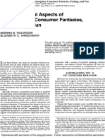 Consumer Fantasies Hollbrook