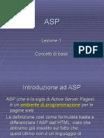ASP - Lezione 1 - Iis e Pws