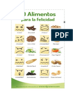 10 Alimentos Para La Felicidad