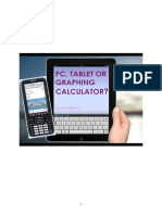 PC, Tablet or Graphing Calculator? - 90-1-367-1-10-20141027