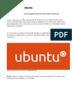 Como Instalar o Ubuntu