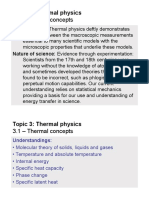 - Thermal Concepts