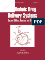 Ophthalmic Drug Delivery Systems, 2Ed. 2003