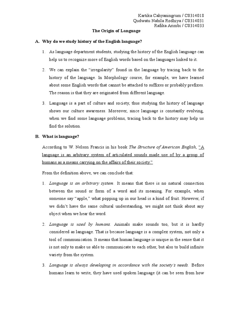 structure of spoken language essay Essay plan for spoken language assessment 1st paragraph=introduction introduce the two ways in which we communicate with each other (spoken.
