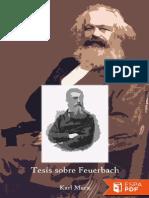 Tesis Sobre Feuerbach Karl Marx
