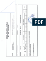 Mill Certificate Tube