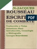 Rousseau, Jean-Jacques - Escritos de Combate.pdf