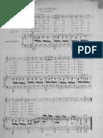 Berger - Nachtlied - Il Giardiniere (Da Trasportare in Sol Maggiore, Tre Strofe)