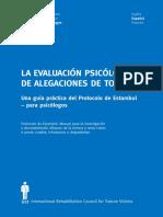 Guia Practica Protocolo Estambul Psicologos
