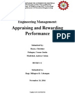 Appraising and Rewarding Performance