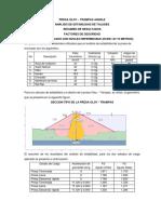 Análisis de Estabilidad de Taludes Presa Oloy