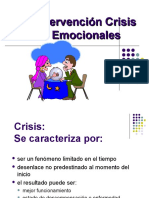 Curso Intervencion en Crisis Clase La Intervencion
