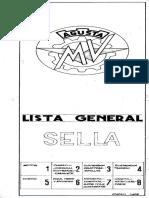 Manual Piezas Avello MV Sella