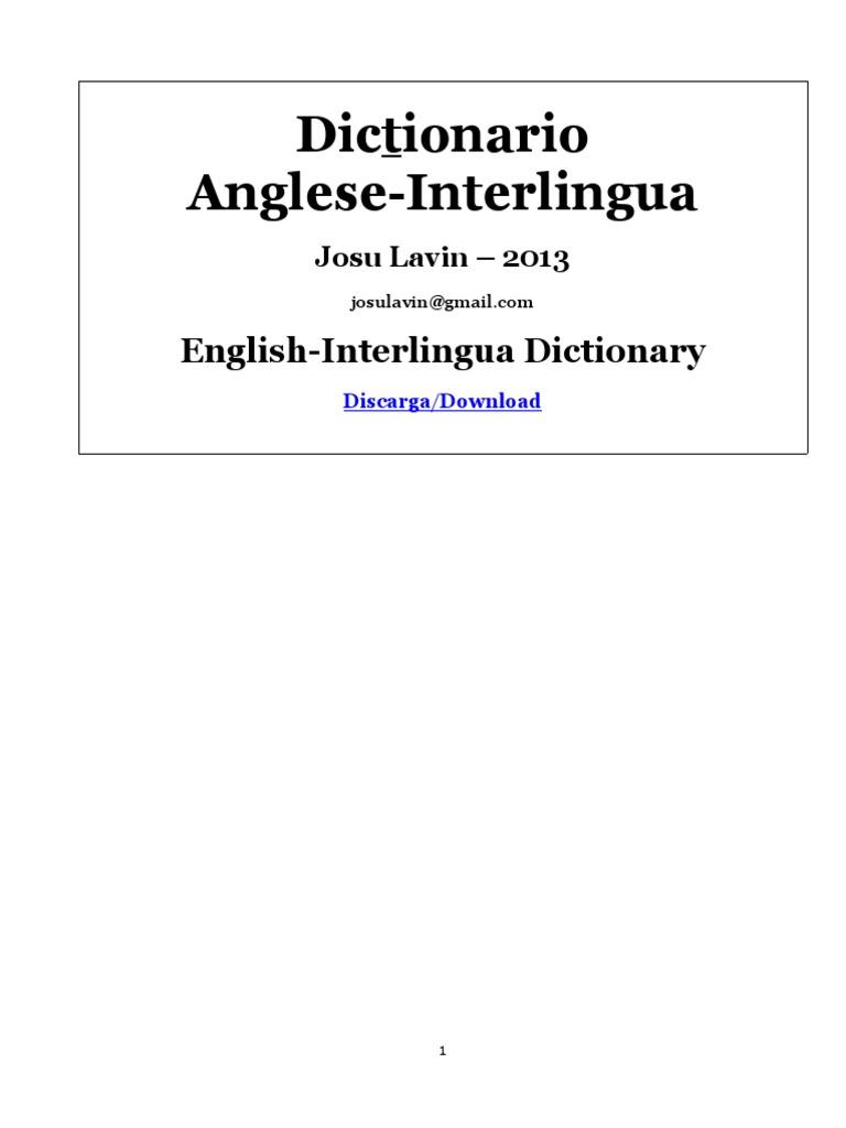 Dictionario anglese interlingua acupuncture nature malvernweather Gallery