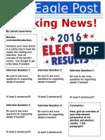 election results newsletter template - nevaeh ramirez-pinachos