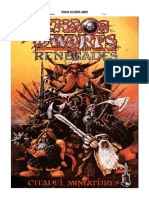 WarHammer Fantasy Battle - 7th Edition Armybook - Chaos Dwarfs (Pre-release 2008)