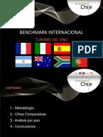 Estudio Benchmark Internacional de Enoturismo